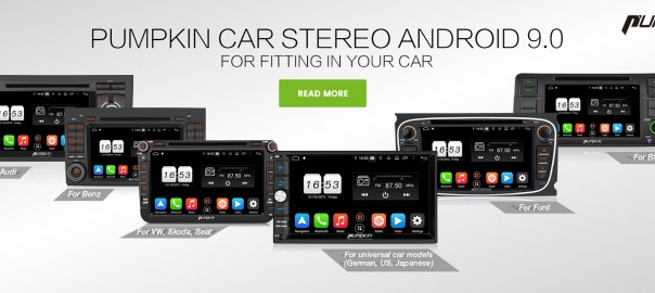 PUMPKIN Android 9.0 car stereos US