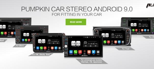 PUMPKIN Android 9.0 car stereos US